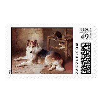 Playmates - Dog Kitten - Puppy Postage
