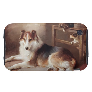 Playmates - Dog Kitten - Puppy Tough iPhone 3 Case