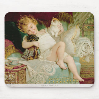 Playmates, from the Pears Annual, 1903 Mouse Pad