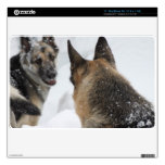 """Playmates in the Snow 11"""" MacBook Air Decals"""