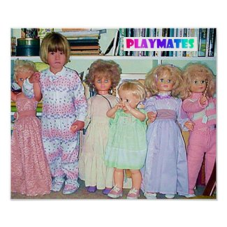 PLAYMATES POSTERS