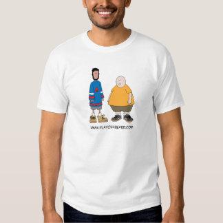 Playoff Beard and Fat Vegan T-shirt