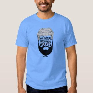 Playoff Beard T-shirt