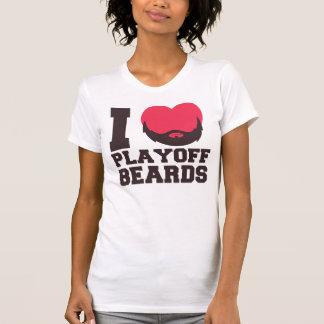 Playoff Beards (pink) T-shirt