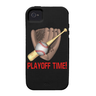 Playoff Time Vibe iPhone 4 Cases