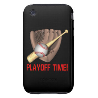 Playoff Time Tough iPhone 3 Covers