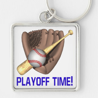 Playoff Time Keychain