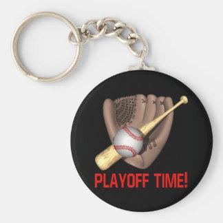 Playoff Time Keychain
