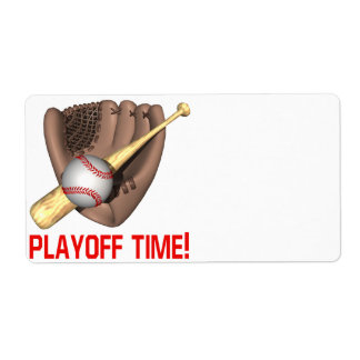 Playoff Time Label