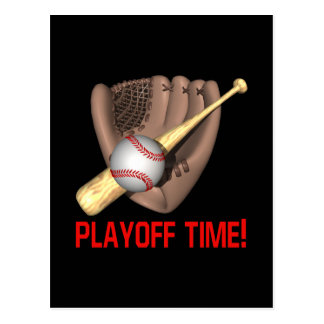 Playoff Time Postcard