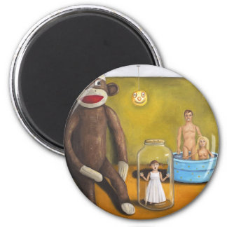 Playroom Nightmare 2 2 Inch Round Magnet