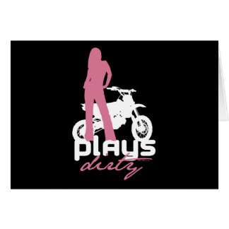 Plays Dirty - Girl Card