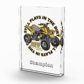 Plays in the Dirt ATV Award