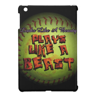 Plays Like A Beast Fastpitch Softball Cover For The iPad Mini