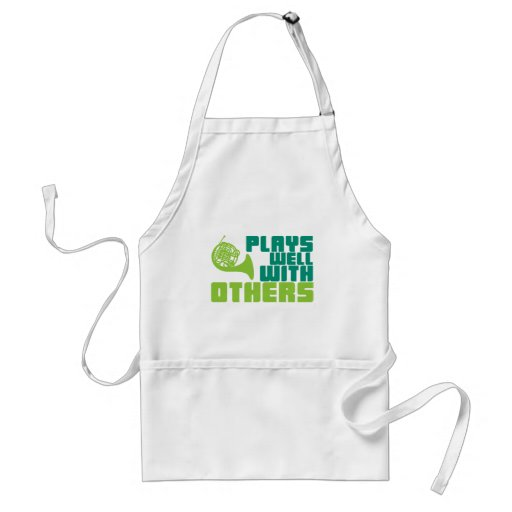 Plays Well with Others - Horn Aprons