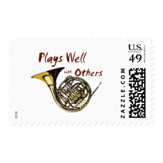Plays Well with Others Postage Stamps