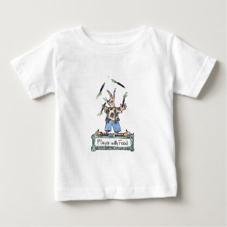 Plays With Food Baby T-Shirt