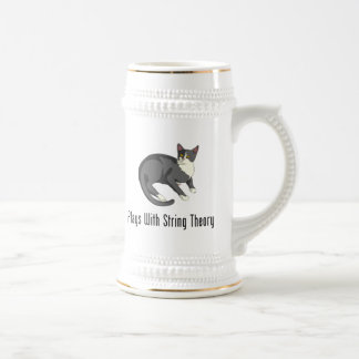 Plays With String Theory 18 Oz Beer Stein