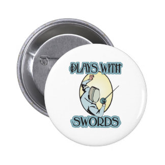 Plays with Swords Pins