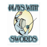 Plays with Swords Postcards