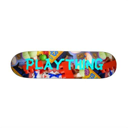 Plaything Toy Pattern Kids Mini Skateboard