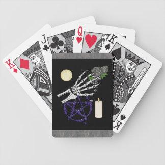 Playthings de la bruja barajas de cartas