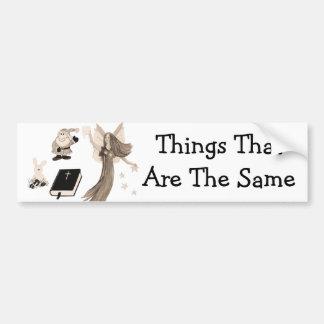 Playthings imaginarios etiqueta de parachoque