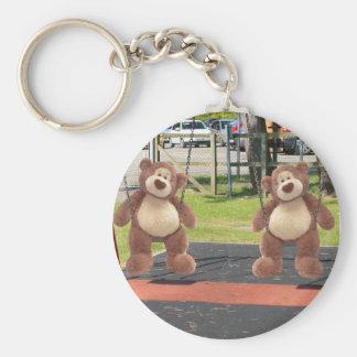 Playtime Teddy Bears Keychain