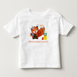 Playtime Toy Party - Roxie the Red Panda Toddler T-shirt