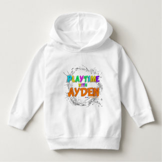 Playtime with Ayden-First Edition-Toddler Hoodie