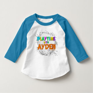 Playtime with Ayden - Toddler T-Shirt