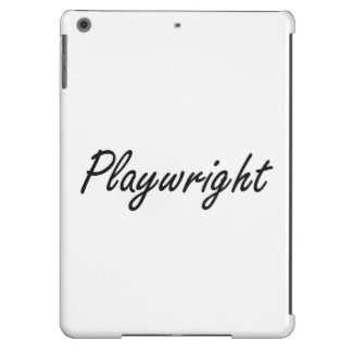 Playwright Artistic Job Design iPad Air Covers