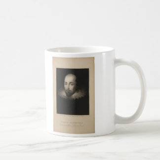 Playwright William Shakespeare by Cornelius Jansen Coffee Mug