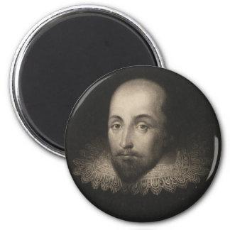 Playwright William Shakespeare by Cornelius Jansen Refrigerator Magnet