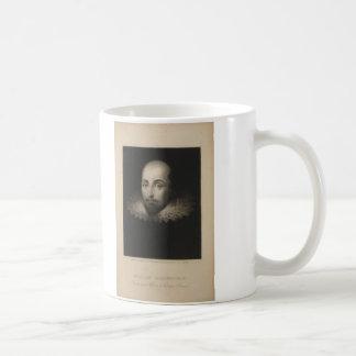 Playwright William Shakespeare by Cornelius Jansen Classic White Coffee Mug