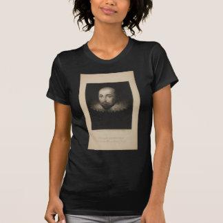 Playwright William Shakespeare by Cornelius Jansen T-Shirt
