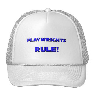 Playwrights Rule Hat