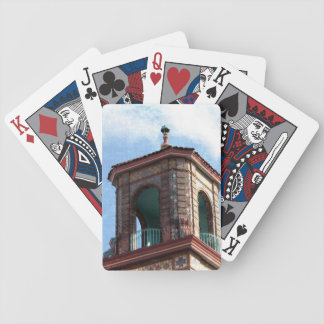 Plaza Building Details Bicycle Playing Cards