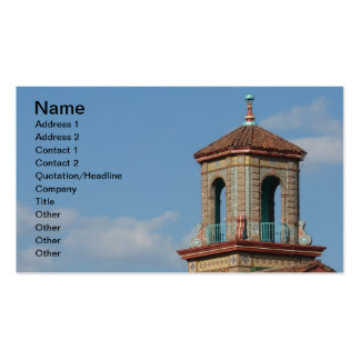Plaza Building Details Double-Sided Standard Business Cards (Pack Of 100)