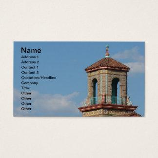 Plaza Building Details Business Card