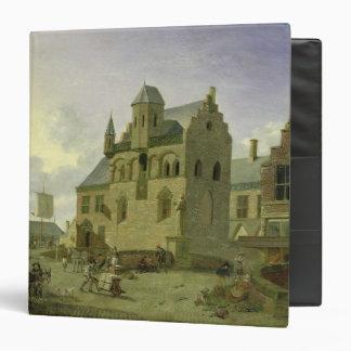 """Plaza con las figuras y el comercio de los carpeta 1 1/2"""""""