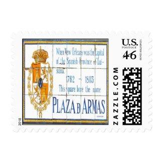 Plaza De Armas stamp