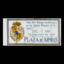Plaza De Arms Tile Mural posters