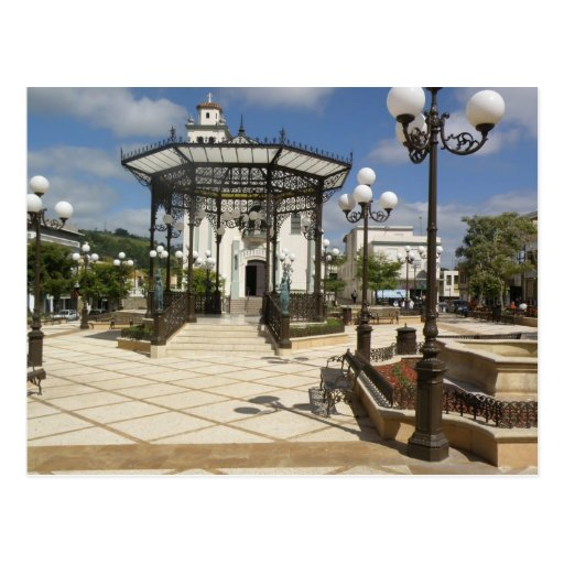 Plaza de Barraquitas Postcard