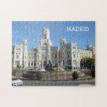 "Plaza de Cibeles, Madrid Jigsaw Puzzle<br><div class=""desc"">Plaza de Cibeles,  Madrid,  Spain. Images from Spain collection</div>"