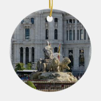 Plaza de Cibeles, Madrid Ornament