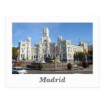 Plaza de Cibeles, postal de Madrid