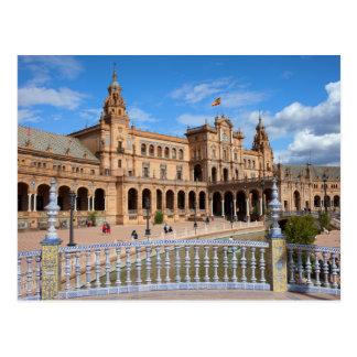 Plaza de Espana in Seville Postcard