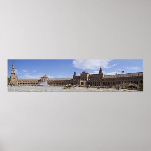 Plaza de Espana Sevilla Impresiones