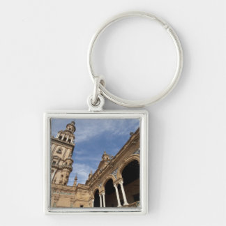 Plaza de Espana, Seville, Andalusia, Spain Keychain
